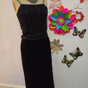 Black dress skirt for women